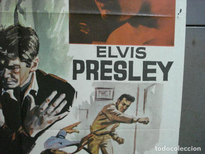 Cine: AAI70 PISO DE LONA kid galahad ELVIS PRESLEY POSTER ORIGINAL 70X100 ESTRENO - Foto 7 - 205017353