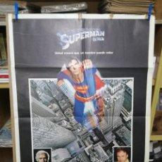 Cine: SUPERMAN EL FILM CHRISTOPHER REEVE RICHARD DONNER POSTER ORIGINAL 70X100. Lote 205017511