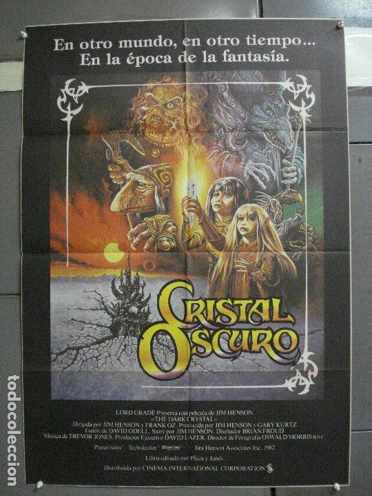 AAI76 CRISTAL OSCURO FRANK OZ JIM HENSON CIENCIA FICCION POSTER ORIGINAL 70X100 ESTRENO (Cine - Posters y Carteles - Ciencia Ficción)