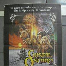 Cine: AAI76 CRISTAL OSCURO FRANK OZ JIM HENSON CIENCIA FICCION POSTER ORIGINAL 70X100 ESTRENO. Lote 205026583