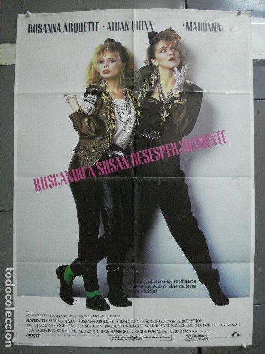 AAI80 BUSCANDO A SUSAN DESESPERADAMENTE MADONNA ROSANNA ARQUETTE POSTER ORIGINAL 70X100 ESTRENO (Cine - Posters y Carteles - Musicales)