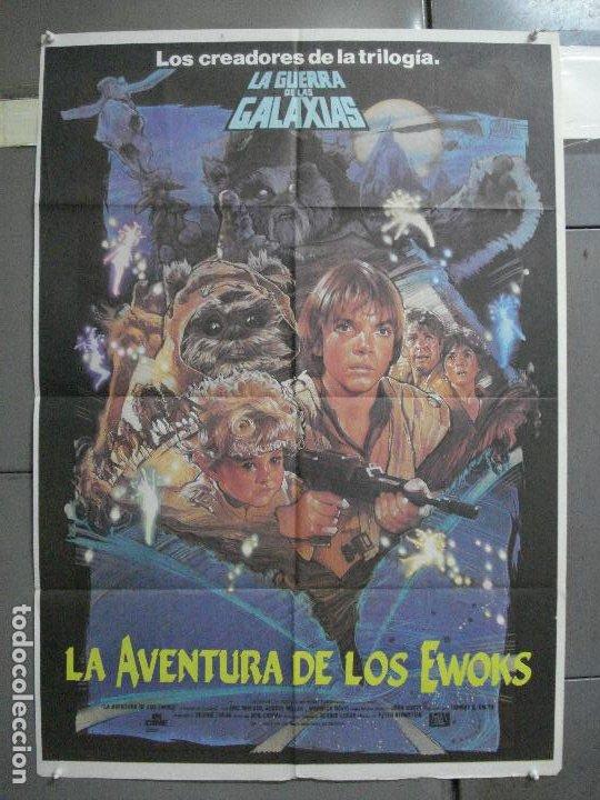 AAI81 LA AVENTURA DE LOS EWOKS GEORGE LUCAS DREW POSTER ORIGINAL 70X100 ESTRENO (Cine - Posters y Carteles - Ciencia Ficción)