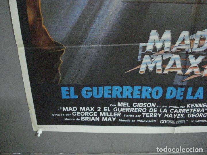 Cine: AAI82 MAD MAX 2 MEL GIBSON POSTER ORIGINAL 70X100 ESTRENO - Foto 5 - 205103340