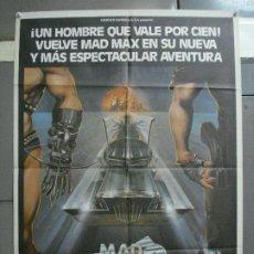 Cine: AAI82 MAD MAX 2 MEL GIBSON POSTER ORIGINAL 70X100 ESTRENO. Lote 205103340