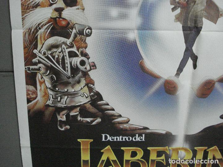 Cine: AAI84 DENTRO DEL LABERINTO DAVID BOWIE JIM HENSON GEORGE LUCAS POSTER ORIGINAL 70X100 ESTRENO - Foto 4 - 205106925
