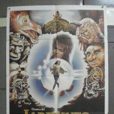 Cine: AAI84 DENTRO DEL LABERINTO DAVID BOWIE JIM HENSON GEORGE LUCAS POSTER ORIGINAL 70X100 ESTRENO. Lote 205106925