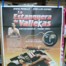 Cine: LA ESTANQUERA DE VALLEKAS EMMA PENELLA ELOY DE LA IGLESIA POSTER ORIGINAL. Lote 205114087