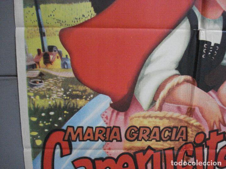 Cine: AAJ00 CAPERUCITA ROJA MARIA GRACIA MANUEL VALDES POSTER ORIGINAL 70X100 ESTRENO - Foto 4 - 205132563