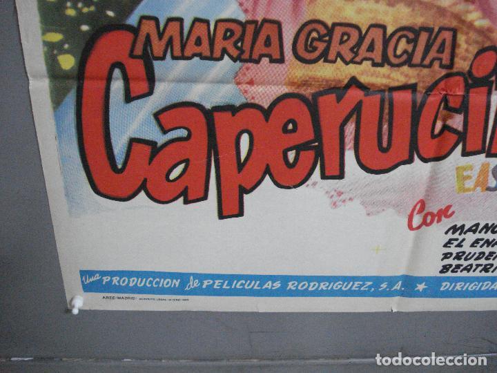 Cine: AAJ00 CAPERUCITA ROJA MARIA GRACIA MANUEL VALDES POSTER ORIGINAL 70X100 ESTRENO - Foto 5 - 205132563
