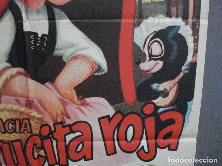 Cine: AAJ00 CAPERUCITA ROJA MARIA GRACIA MANUEL VALDES POSTER ORIGINAL 70X100 ESTRENO - Foto 8 - 205132563