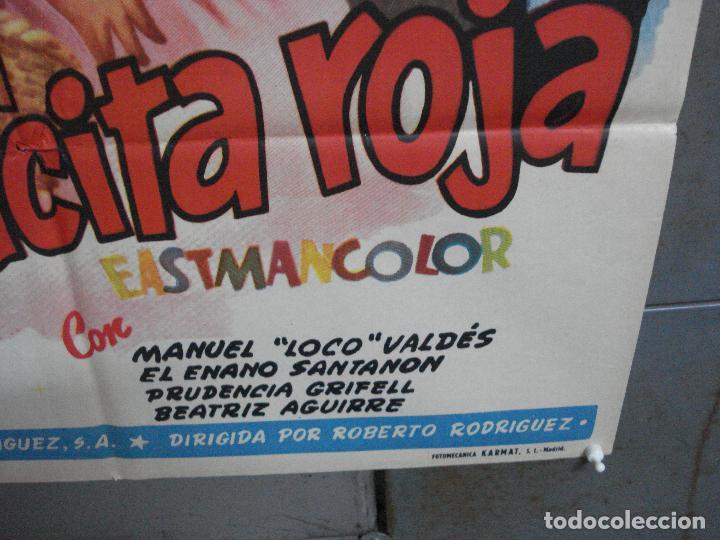 Cine: AAJ00 CAPERUCITA ROJA MARIA GRACIA MANUEL VALDES POSTER ORIGINAL 70X100 ESTRENO - Foto 9 - 205132563
