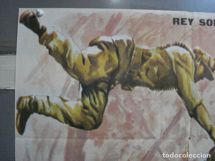Cine: AAJ03 LA COLINA DE LOS DIABLOS DE ACERO ANTHONY MANN ROBERT RYAN POSTER ORIGINAL 70X100 ESTRENO - Foto 2 - 205133180
