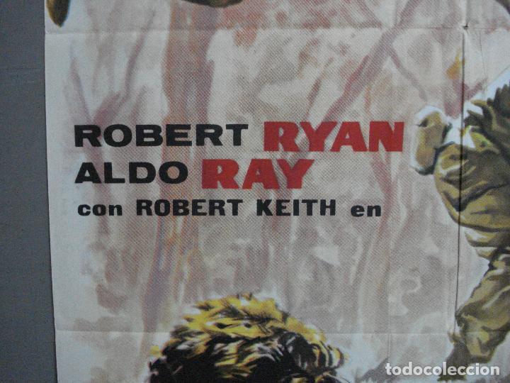 Cine: AAJ03 LA COLINA DE LOS DIABLOS DE ACERO ANTHONY MANN ROBERT RYAN POSTER ORIGINAL 70X100 ESTRENO - Foto 3 - 205133180
