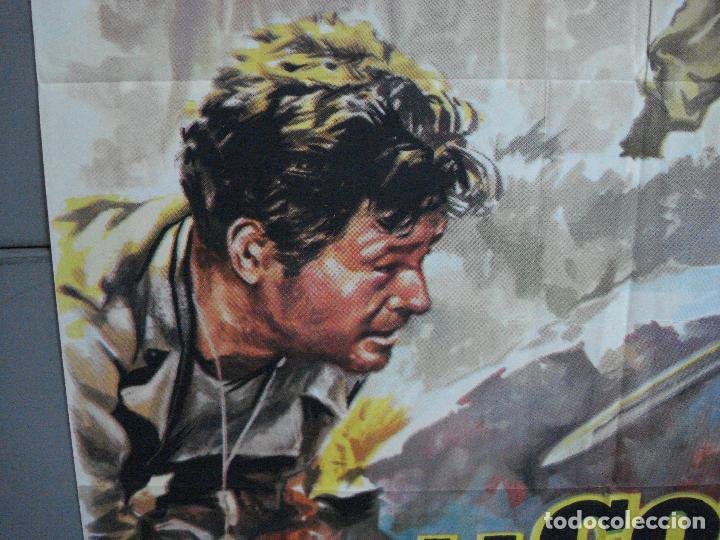 Cine: AAJ03 LA COLINA DE LOS DIABLOS DE ACERO ANTHONY MANN ROBERT RYAN POSTER ORIGINAL 70X100 ESTRENO - Foto 4 - 205133180