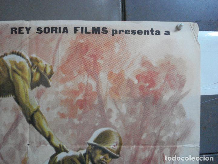 Cine: AAJ03 LA COLINA DE LOS DIABLOS DE ACERO ANTHONY MANN ROBERT RYAN POSTER ORIGINAL 70X100 ESTRENO - Foto 6 - 205133180