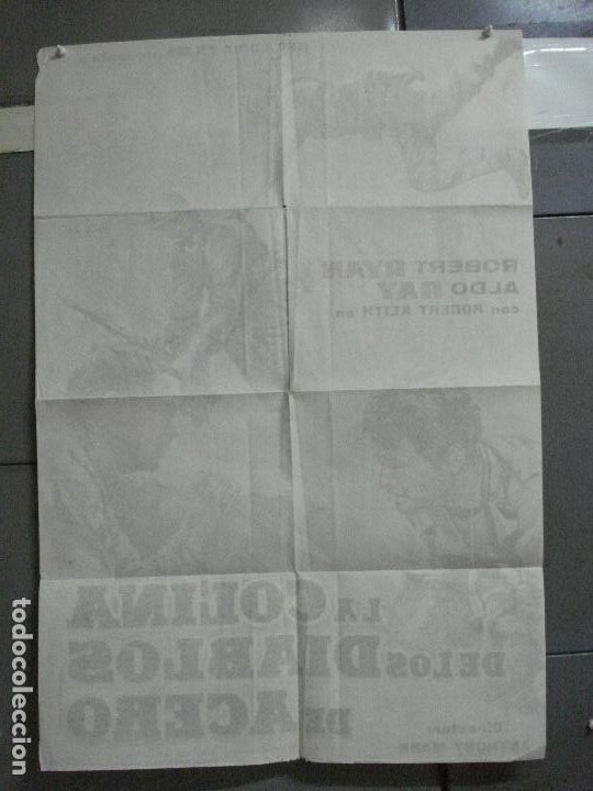 Cine: AAJ03 LA COLINA DE LOS DIABLOS DE ACERO ANTHONY MANN ROBERT RYAN POSTER ORIGINAL 70X100 ESTRENO - Foto 10 - 205133180
