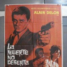 Cine: AAJ07 LA MUERTE NO DESERTA ALAIN DELON LEA MASSARI LEGION POSTER ORIGINAL 70X100 ESTRENO. Lote 205134175