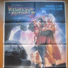 Cine: CARTEL CINE, REGRESO AL FUTURO II, MICHAEL J. FOX, CHRISTOPHER LLOYD, 1989, C1026. Lote 205134790