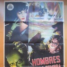 Cine: CARTEL CINE HOMBRES EN LA SOMBRA MARA LANE EDWARD CIANNELLI C1660. Lote 205138296