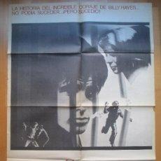 Cine: CARTEL CINE, EL EXPRESO DE MEDIANOCHE, ALAN PARKER, 1978, C1295. Lote 205140045