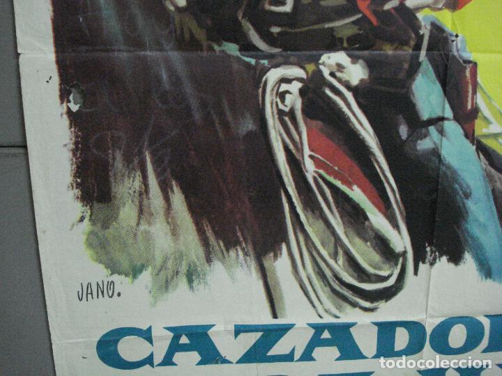 Cine: AAJ18 CAZADOR DE FORAJIDOS ANTHONY MANN HENRY FONDA ANTHONY PERKINS POSTER ORIGINAL 70X100 ESTRENO - Foto 4 - 205140430