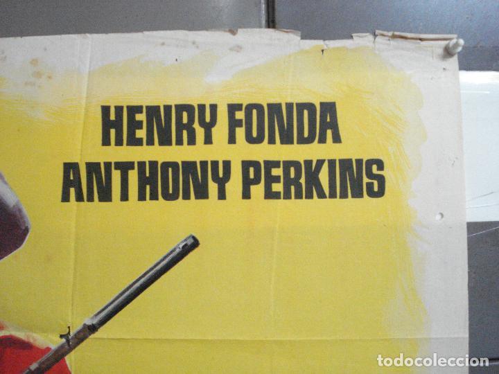 Cine: AAJ18 CAZADOR DE FORAJIDOS ANTHONY MANN HENRY FONDA ANTHONY PERKINS POSTER ORIGINAL 70X100 ESTRENO - Foto 6 - 205140430