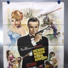 Cine: DESDE RUSIA CON AMOR JAMES BOND 007 - SEAN CONNERY - AÑO 1974. Lote 205142736