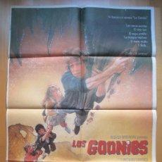 Cinema: CARTEL CINE, LOS GOONIES, STEVEN SPIELBERG, 1985, C356. Lote 205145278