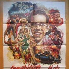 Cine: CARTEL CINE, AMERICAN GRAFFITI, RICHARD DREYFUSS, 1974, MAD, C914. Lote 205150625