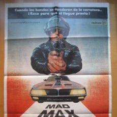 Cine: CARTEL CINE, MAD MAX SALVAJES DE AUTOPISTA, BYRON KENNEDY, MEL GIBSON, 1979, C764. Lote 205157525