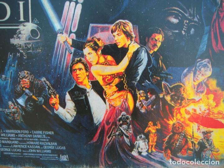 Cine: cuadro poster pegado a madera star wars - Foto 2 - 205174860