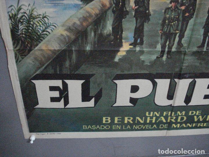 Cine: AAJ41 EL PUENTE BERNHARD WICKI POSTER ORIGINAL 70X100 ESTRENO - Foto 5 - 205254571