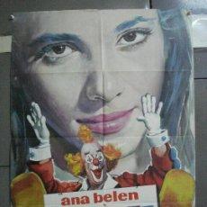 Cinema: CDO 2494 ZAMPO Y YO ANA BELEN CIRCO POSTER ORIGINAL 70X100 DEL ESTRENO. Lote 205280218