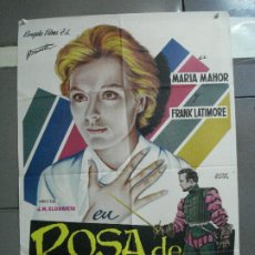 Cine: CDO 2495 ROSA DE LIMA MARIA MAHOR FRANK LATIMORE POSTER ORIGINAL 70X100 ESTRENO. Lote 205280648