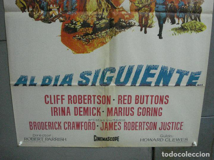 Cine: CDO 2498 AL DIA SIGUIENTE CLIFF ROBERTSON RED BUTTONS POSTER ORIGINAL 70X100 ESTRENO - Foto 4 - 205282691