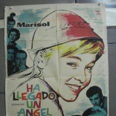 Cine: CDO 2508 HA LLEGADO UN ANGEL MARISOL CARLOS LARRAÑAGA MAC POSTER ORIGINAL ESTRENO 70X100. Lote 205295502