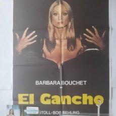 Cine: ANTIGUO CARTEL CINE EL GANCHO + 12 FOTOCROMOS 1978 CC236. Lote 205315598