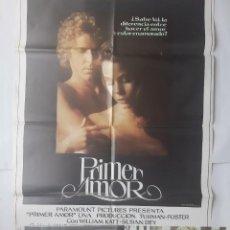 Cine: ANTIGUO CARTEL CINE PRIMER AMOR + 12 FOTOCROMOS 1978 CC237. Lote 205315943