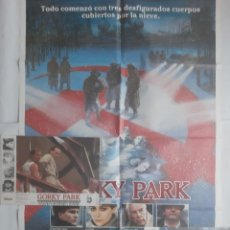 Cine: ANTIGUO CARTEL CINE GORKY PARK + 12 FOTOCROMOS 1987 CC239. Lote 205316916