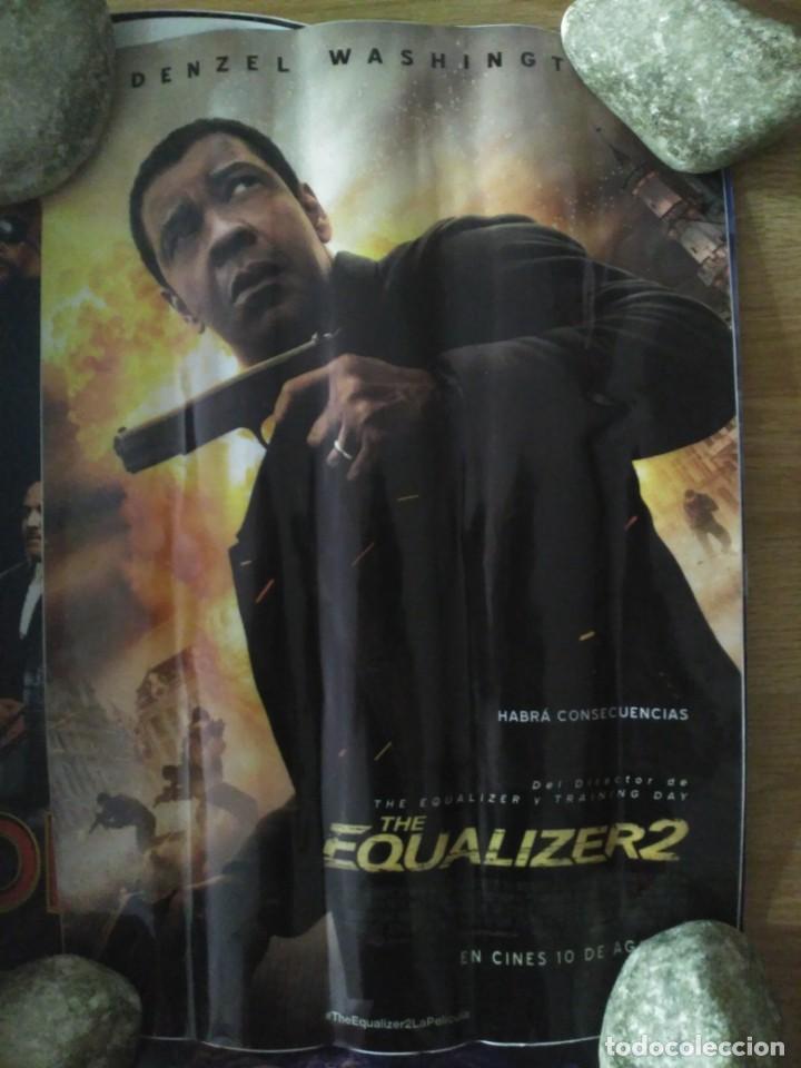EQUALIZER 2 - APROX 50X70 ADHESIVO ORIGINAL CINE (A2) (Cine - Posters y Carteles - Acción)