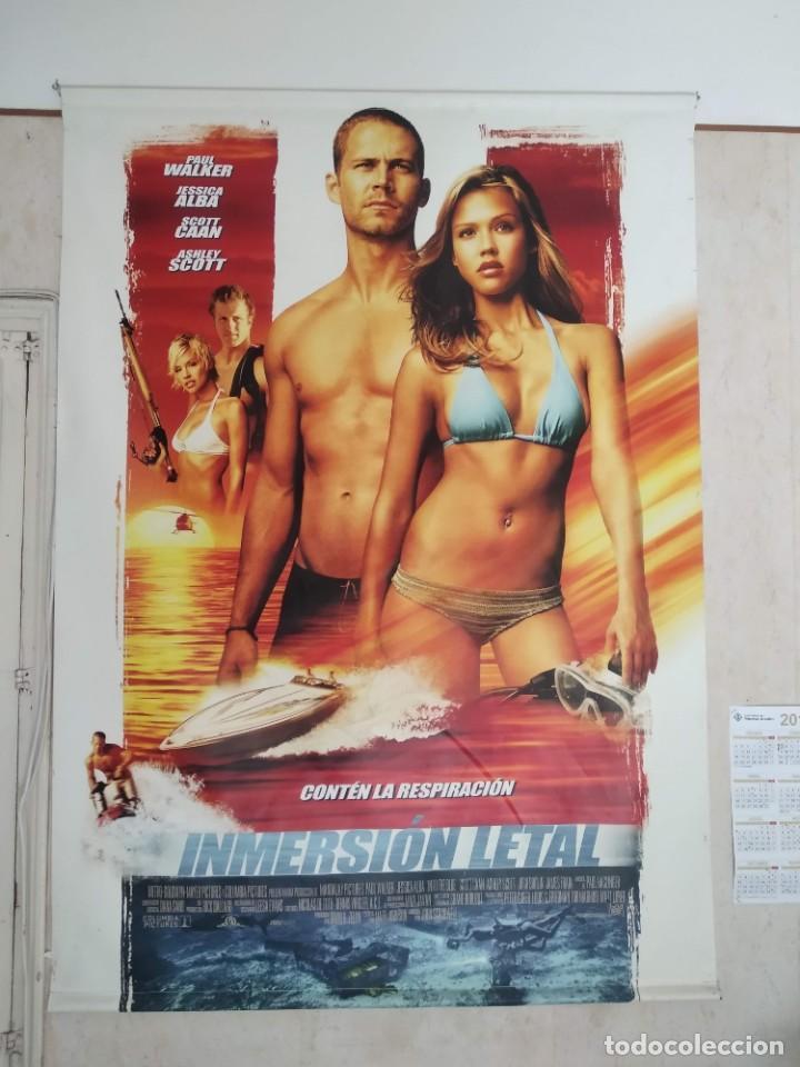 POSTER GIGANTE INMERSIÓN LETAL (Cine - Posters y Carteles - Acción)