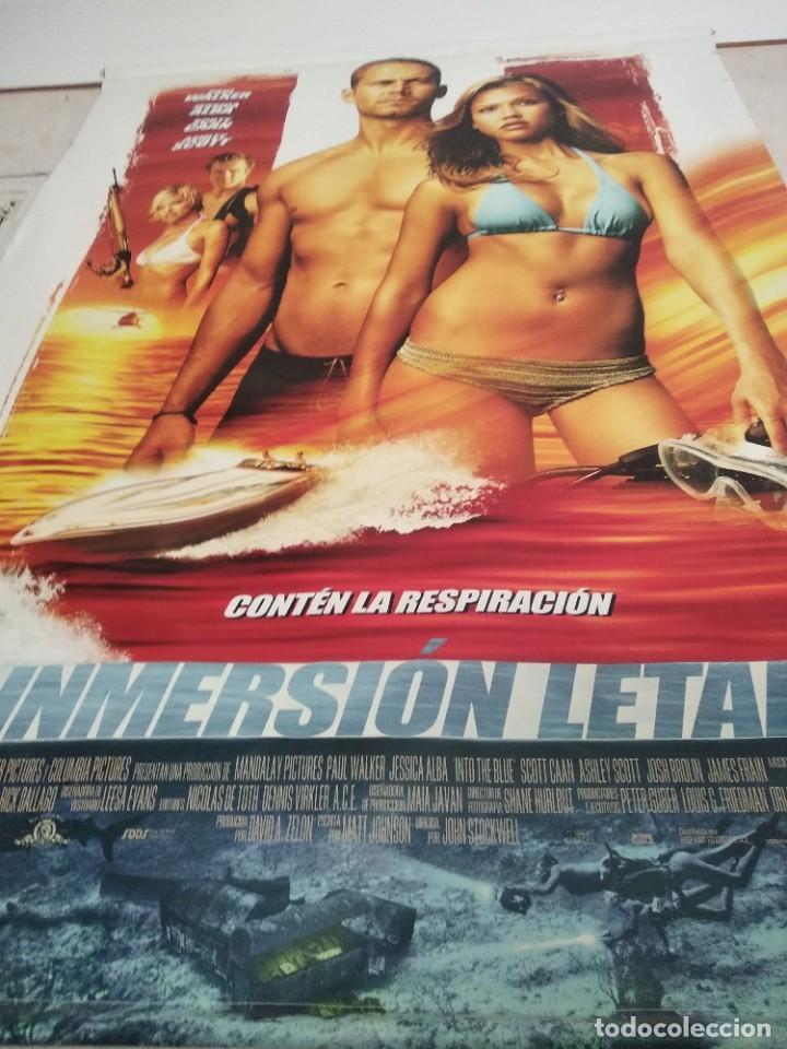 Cine: Poster gigante Inmersión Letal - Foto 2 - 205335042