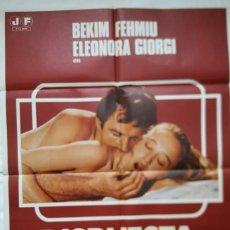 Cine: PÓSTER ORIGINAL DISPUESTA A TODO 1978. Lote 205401775