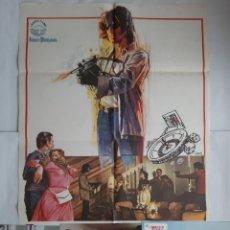 Cine: ANTIGUO CARTEL CINE FABRICANTES DE PANICO VICTORIA VERA + 12 FOTOCROMOS 1979 CC245. Lote 205554395