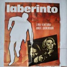 Cine: ANTIGUO CARTEL CINE LABERINTO + 12 FOTOCROMOS 1979 CC246. Lote 205555390
