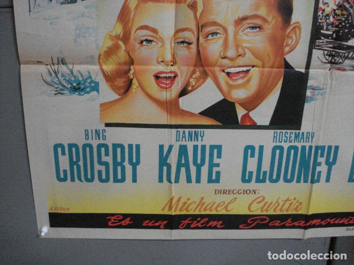 Cine: AAG82d NAVIDADES BLANCAS BING CROSBY DANNY KAYE POSTER ORIGINAL 70X100 ESTRENO LITOGRAFIA - Foto 4 - 205661216
