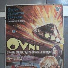 Cine: CDO 2526 OVNI UFO LOS DIABLOS ROJOS ATACAN LA TIERRA GERY ANDERSON POSTER ORIGINAL 70X100 ESTRENO. Lote 205668061