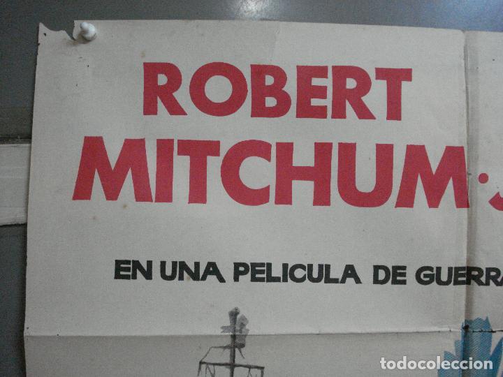 Cine: CDO 2527 DUELO EN EL ATLANTICO ROBERT MITCHUM CURD JURGENS POSTER ORIGINAL 70X100 ESTRENO - Foto 2 - 205668506