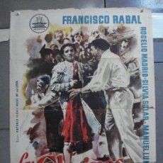 Cine: CDO 2533 LOS CLARINES DEL MIEDO FRANCISCO RABAL TOROS CIFESA POSTER ORIGINAL 70X100 ESTRENO. Lote 205672026