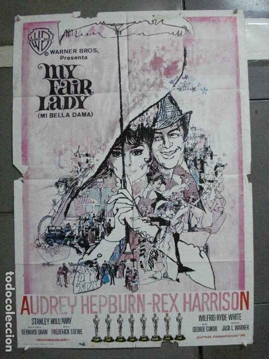 CDO 2561 MY FAIR LADY AUDREY HEPBURN POSTER DE BOB PEAK ORIGINAL 70X100 ESTRENO (Cine - Posters y Carteles - Musicales)